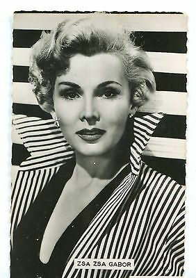 CPSM Zsa Zsa Gabor photo Paramount 1954 Collection Kores 29F 583