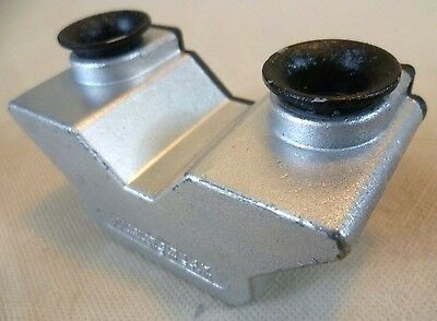 Vintage Stereo Viewer - Very Rare Cast Metal Stereax Viewer by A.P.I. Ltd London