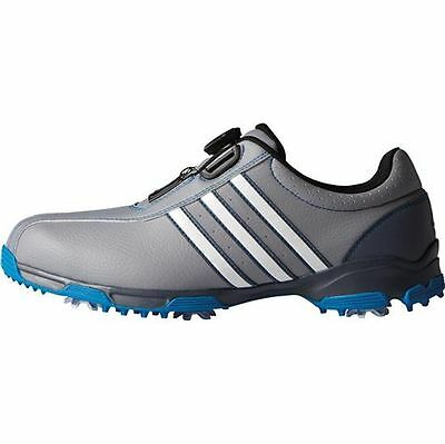 Adidas Mens 360 Traxion Boa Onix/Blue F33448 Size 9.5 Medium