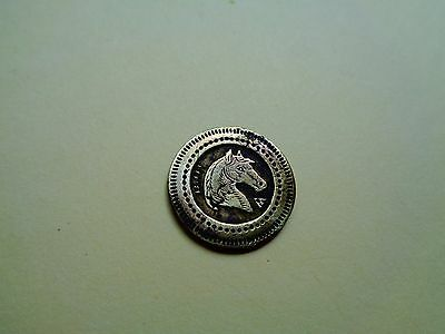 French 20 cts ; Horse Head - Look!