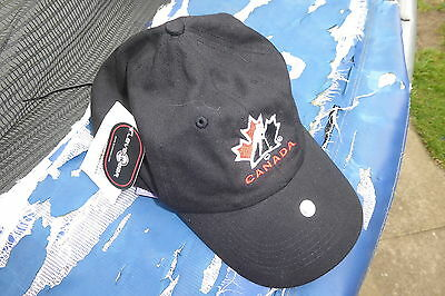 Canada Ice Hockey Official Product 100% Cotton Cap *bnwt*