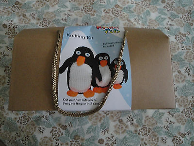 Knit Your Own Percy Penguin Kit Brand New