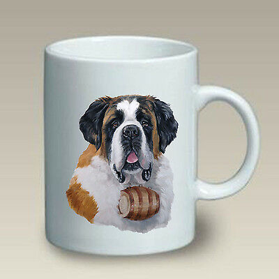 11 oz. Ceramic Mug (LP) - Saint Bernard 46058