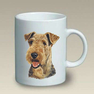 11 oz. Ceramic Mug (LP) - Airedale Terrier 46027