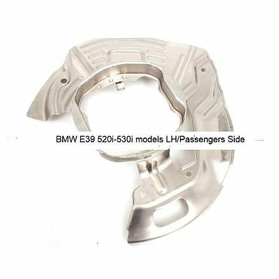 Front Brake Disc Protection Plate BMW E39 5 Series Passengers Side 34111162955