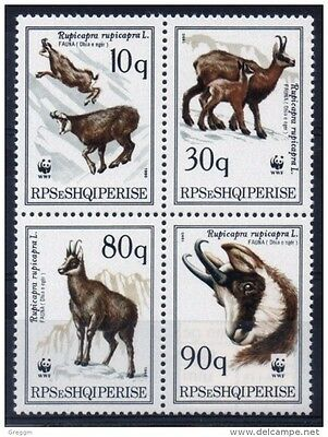 Albania unmounted mint set of stamps issued in 1990.