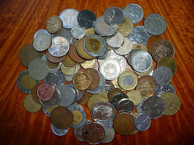 Mixed Lot of International Coins (1+ lb.) Current/Obsolete/Circulated #24