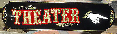 Old Fashioned Home Theater Sign, Custom Pointer
