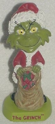 The Grinch Bobblehead How The Grinch Stole Christmas Universal Studios 2000