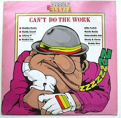 Various / Can't Do The Work [Steelie & Clevie] Lp