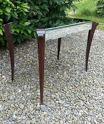 Original French Mirror Top ART DECO Sabre Leg Occasional / Coffee / Side TABLE