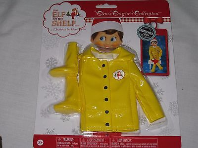 2016 ELF ON THE SHELF Clothing Caroling in the Raincoat & Boots CLAUS COUTURE