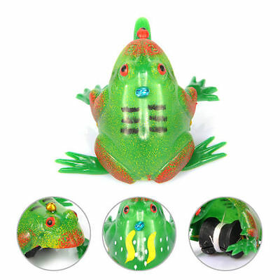 Kids Animal Toys Gifts Boys Girl Pull String Frog Windup Spring Vintage Toys HOT