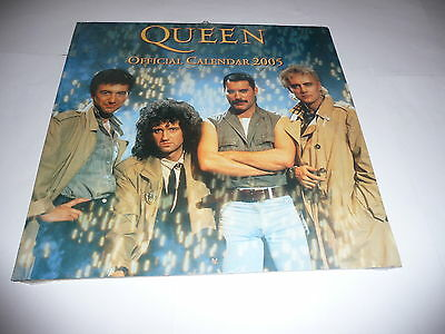 Queen - Official 2005 Calendar SEALED
