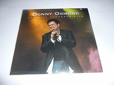 Donny Osmond - Official 2005 Calendar SEALED