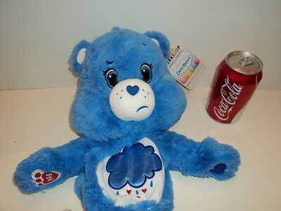 "NWT! Build a Bear UNSTUFFED ""GRUMPY CARE BEAR"" AMERICAN GREETINGS BLUE CLOUD"