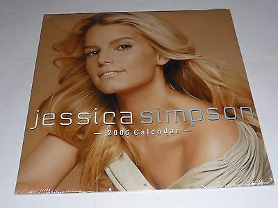 Jessica Simpson - 2005 Calendar SEALED