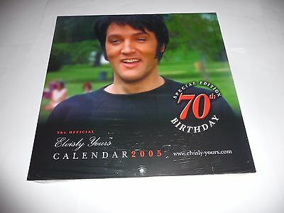 Elvis Presley - Official Elvisly Yours 2005 Calendar SEALED
