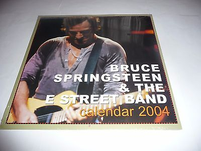 Bruce Springsteen & The E Street Band - 2004 Calendar (Danilo) SEALED