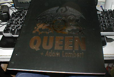 Queen + Adam Lambert Official Tour Programme 2015
