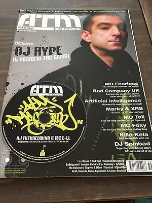Atmosphere Magazine Issue 59 & Mix CD. Drum & Bass Jungle Rave 2003 DJ Hype