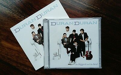 DURAN DURAN (2 CD Set) The Biggest And The Best (Free P&P)