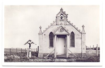 Post Card,The Italian Chapel,Lamb Holm,Orkney,publisher unknown (A)