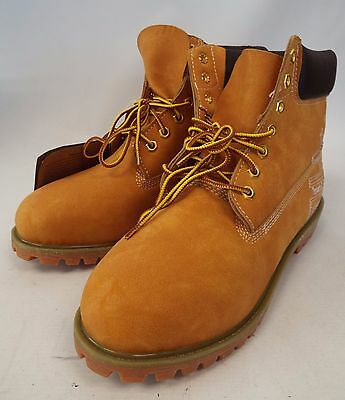 Mens TIMBERLAND Tan Leather Lace Up Boots US11 W UK10.5  - E33