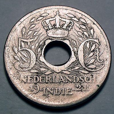 Netherlands East Indies 5 Cents 1921
