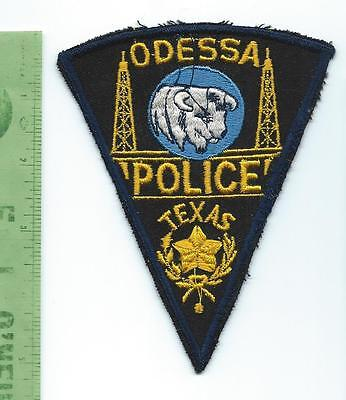 Odessa Texas Police   patch