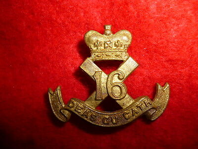 The Canadian Scottish Collar Badge WW2 - Canada