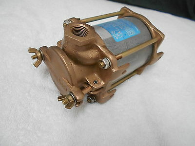 "Used Perko 0493004Plb  Raw Water Pump Strainer 1/2""  Fpt  Bronze Intake Strain"