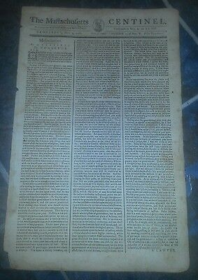 The Massachusetts  Centinel  May 3  1786