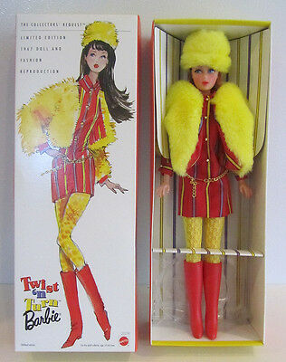 NRFB Smasheroo Twist 'n Turn Barbie TNT 1967 reproduction Limited Edition