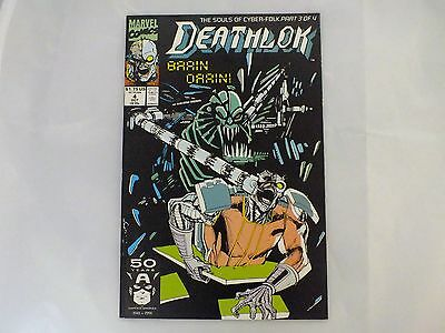 Deathlok #4 Marvel Modern October 1991