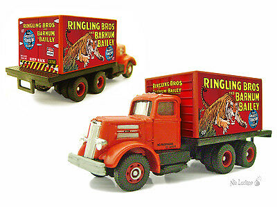 HO Scale Ind. # Ringling Bros - Fine Custom Detailed Classic Metal Works Vehicle