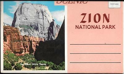 Scenic Zion National Park Photo Folder