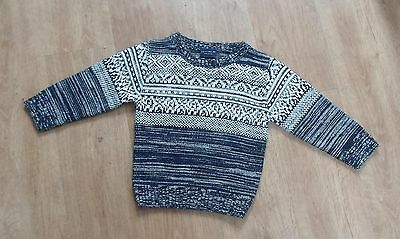 NEXT Baby Boys Knitted Jumper 12-18 months