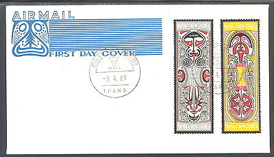 Papua New Guinea Airmail FDC Myths of the Elema People 1969