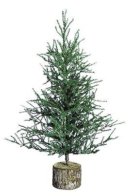 Pistol Pine 36 Inch Artificial Christmas Tree with 995 Tips and Wood Base TR1125