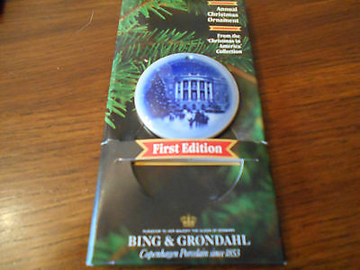 Bing & Grondahl Porcelain Christmas Ornament 1987 New