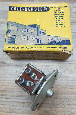 Nos Cole Hersee 1948 54 Overdrive Switch Ford Mercury Lincoln Hudson Vtg Hot Rod