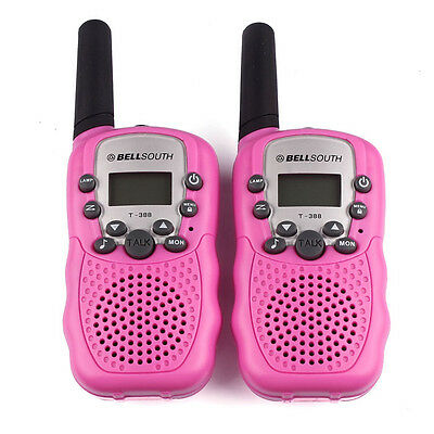 2X Wireless Walkie-talkie Eight Channel 2 Way Radio Intercom 5KM Funkgeräte DE
