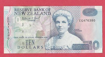 1999/02 New Zealand 10 Dollar Note