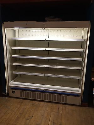 2m Wide Multideck display fridge