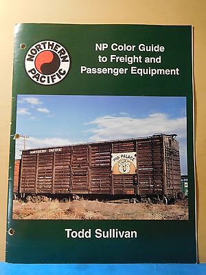 Northern Pacific NP Color Guide to Freight and Passenger Equipment 1995 SC