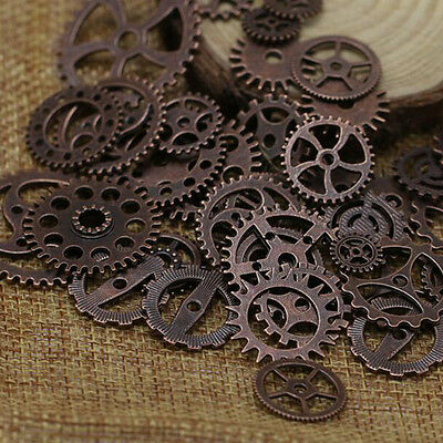 25 / 50 / 100g steam punk watch parts, gears,gears, ancient silver, gold, bronze