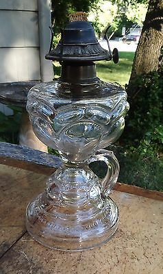 Antique - 3 Mold Finger Oil Lamp - Old and Unusual