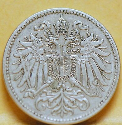 Austria, 1915 10 Heller, Extremely Fine, No Reserve,                       x28gm