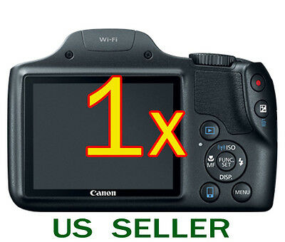 1x Clear LCD Screen Protector Guard Shield Film For Canon PowerShot SX530 HS
